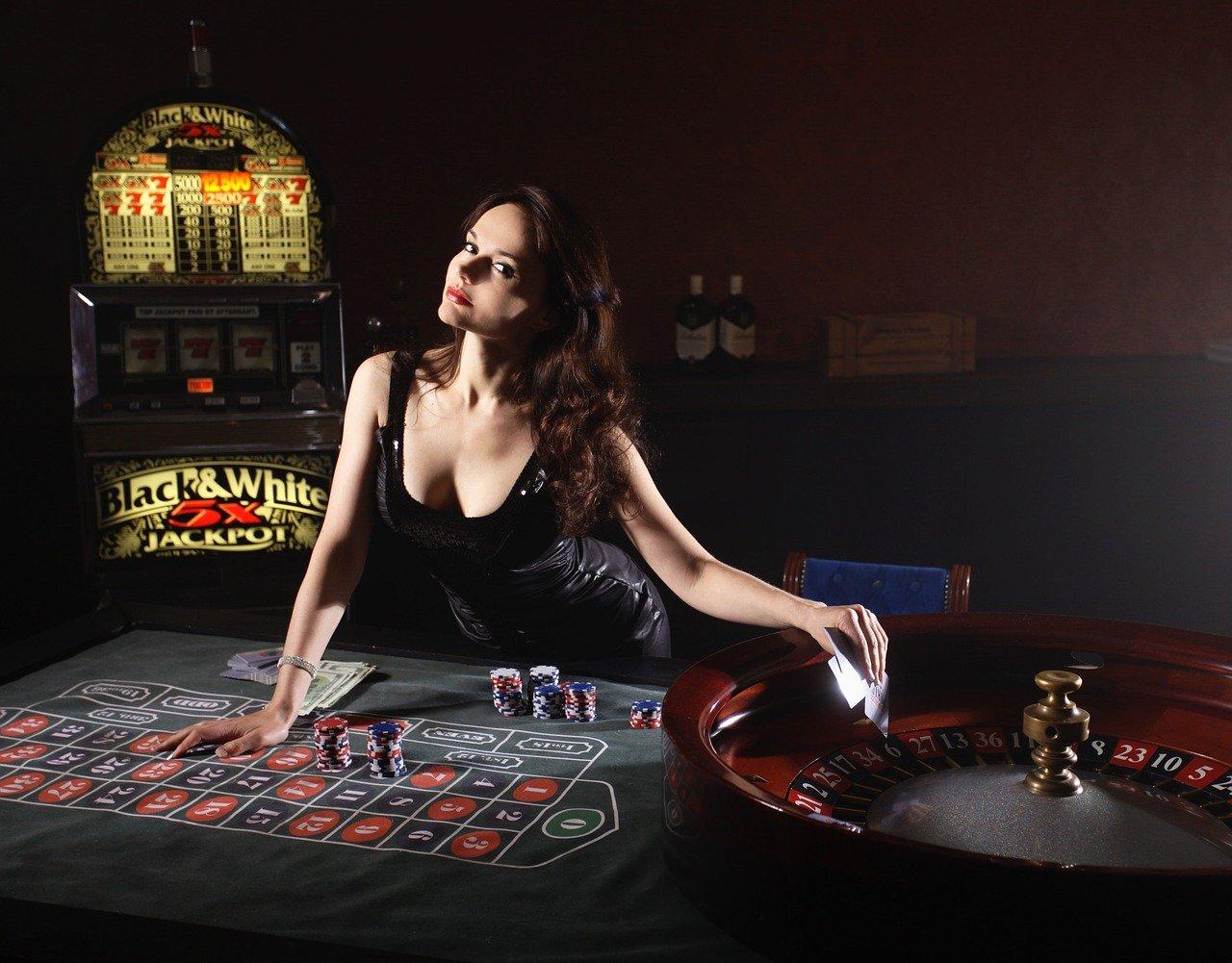 казино женщина